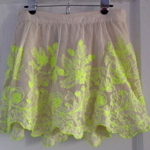 Anthropologie Skirts - ✂️ NWOT Anthropologie Electric Vines Skirt