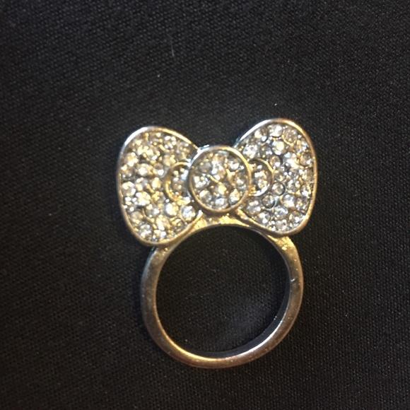 cc21dedab Hello Kitty Jewelry - Hello kitty bling bow ring