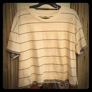 Euc madewell striped tee medium