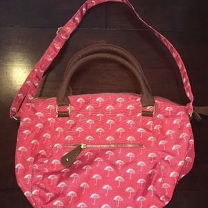 Old navy umbrella print purse bag new
