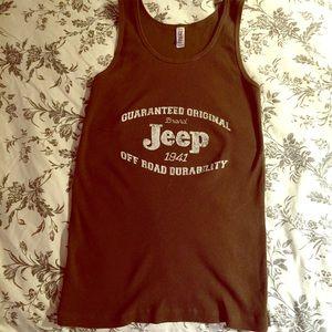 Jeep tank