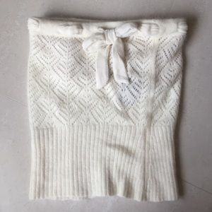 Chrome Hearts Tops - Angora tube top size S in white