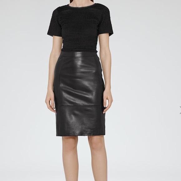 62 reiss dresses skirts reiss leather skirt 2