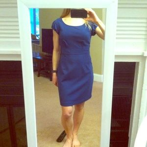 Banana republic blue short sleeve dress.