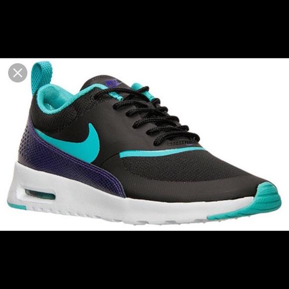 2301f817db Nike Womens Nike Air Max Thea PRM Black/Purp. M_57e9583ef0137d5103000480