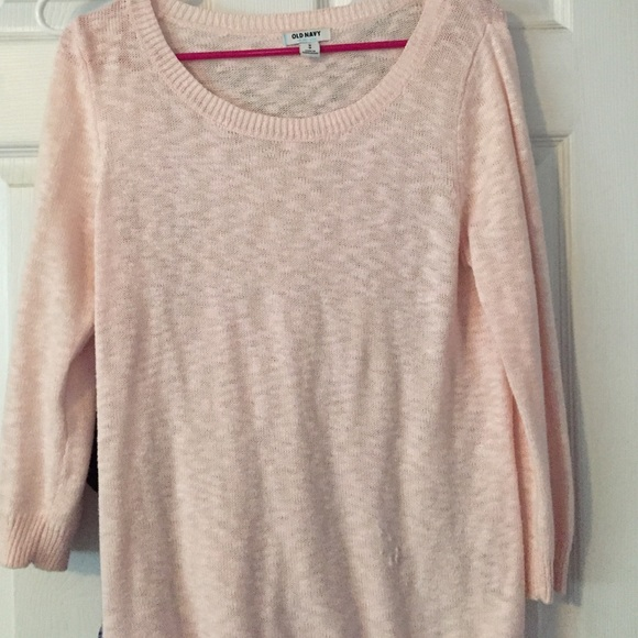 53% off Old Navy Sweaters - Old Navy pink sweater from Shana's ...