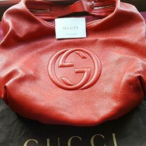 100% Authentic Gucci Soho Hobo