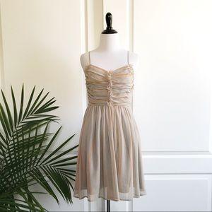 Doo.Ri Dresses & Skirts - Doo.ri For Impulse Pleated Chiffon Dress