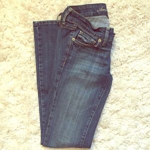 American Eagle Outfitters Denim - Size 0 - American Eagle Skinny Jeans
