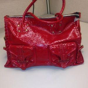 Carla mancini Handbags - Authentic patten leather shoulder bag💥1 hr sale