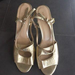 Kate Spade Gold Heels