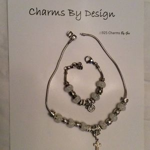 Jewelry - 🎉🎉SOLD🎉Women 925S Silver Bracelet and Necklace