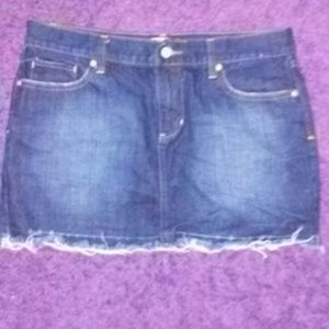 Old Navy denim skirt size 6