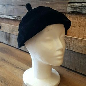 Rilbert Orcel Accessories - Black velvet hat
