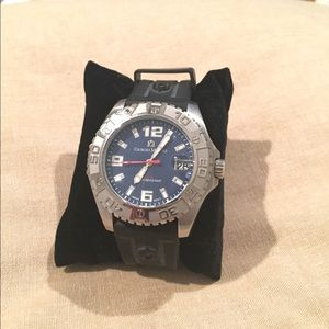 Other - Black and silver Giorgio Milano watch