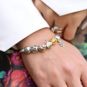 Glamulet bracelet with 5 charms
