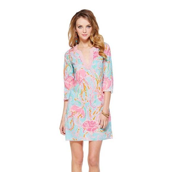 215f034c3f77a2 Lilly Pulitzer Dresses & Skirts - Lilly Pulitzer Jellies Be Jammin Tunic  Dress