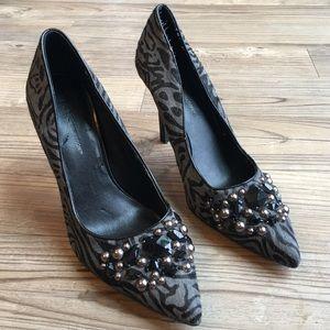 BCBGeneration Shoes - Final Sale💖BCBGeneration Zebra hair heels