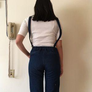 d81633e09a4f Pomelo Jeans - Pomelo Fashion Margaret Pinafore Denim Jumpsuit
