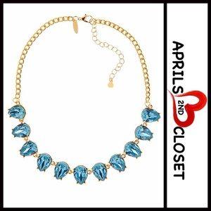 Jeweled Stone STATEMENT Necklace