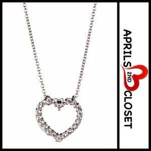 Crislu Jewelry - ❗1-HOUR SALE❗NECKLACE CZ PAVE HEART PENDANT