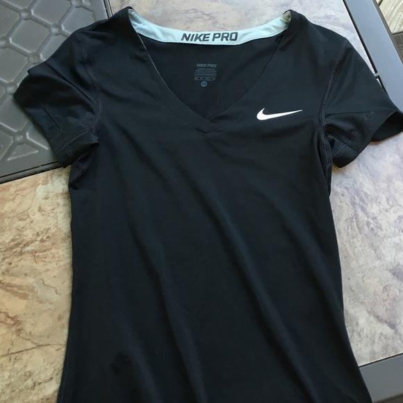 Women's Nike pro compression shirt