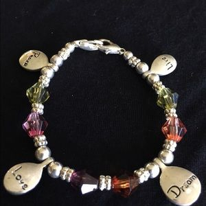 Other - Live Love Dream Peace Bracelet
