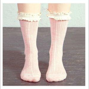 """Arthur George Accessories - Arthur George """"Sweetheart Ruffle"""" Socks. 🎅🏻🎁"""