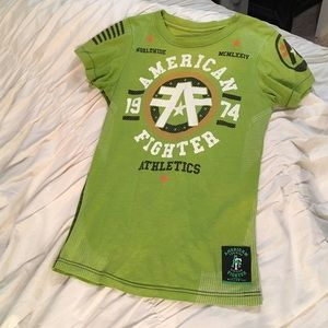 american fighter Tops - American fighter shirt