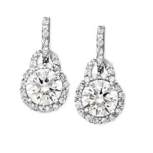 Giani Bernini Jewelry - SS Round drop earrings