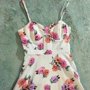 Forever 21 Dresses & Skirts - F21 Mint Floral Dress