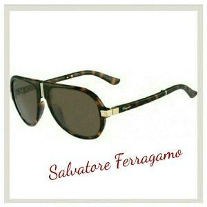Salvatore Ferragamo Accessories - Salvatore Ferragamo Sunglasses aviator folding