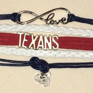 Houston Texans Friendship Bracelet