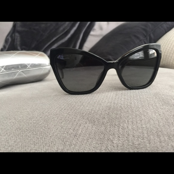 4145f67a9691 CHANEL Accessories | Cat Eye Polarized Sunglasses | Poshmark