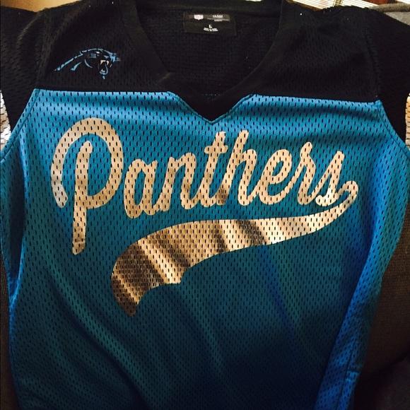 the latest 26372 34a07 Like new Carolina Panthers Mesh baseball jersey