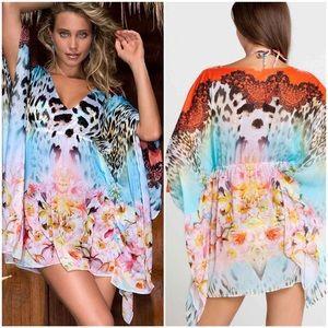 Luli Fama Other - Luli Fama: 'La Isla Bonita' Caftan dress - One Sz
