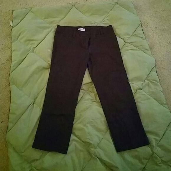 68% off george&martha Pants - Dark brown capri pants from Robin's ...