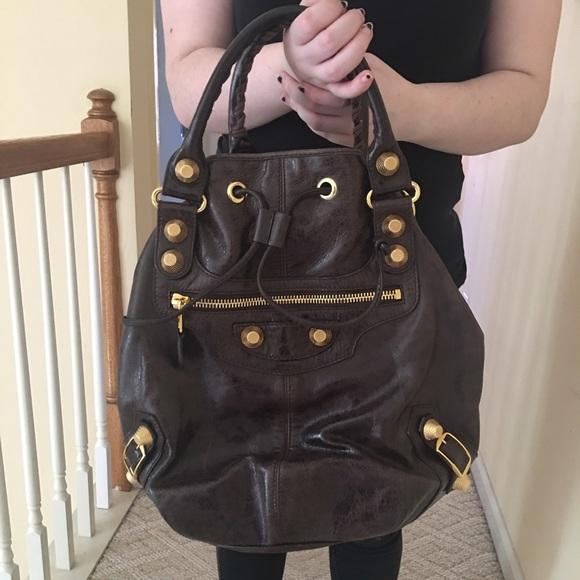 5bc392d28aed Balenciaga Handbags - Balenciaga Giant Pompon Crossbody Bag
