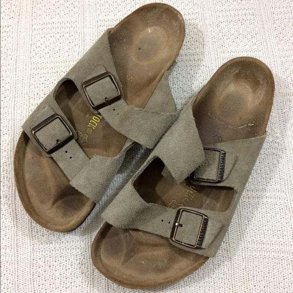 77 off birkenstock shoes birkenstock size 42 european arizona sandal from 39 s closet on. Black Bedroom Furniture Sets. Home Design Ideas
