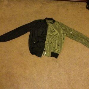 NEVERWORN!!!*** zipper light jacket