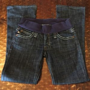 "Frankie B. Pants - Frankie B. Maternity jeans, size 4, 29"" inseam"