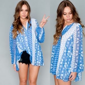Show Me Your MuMu Tops - NWT show me your mumu Jamie tunic