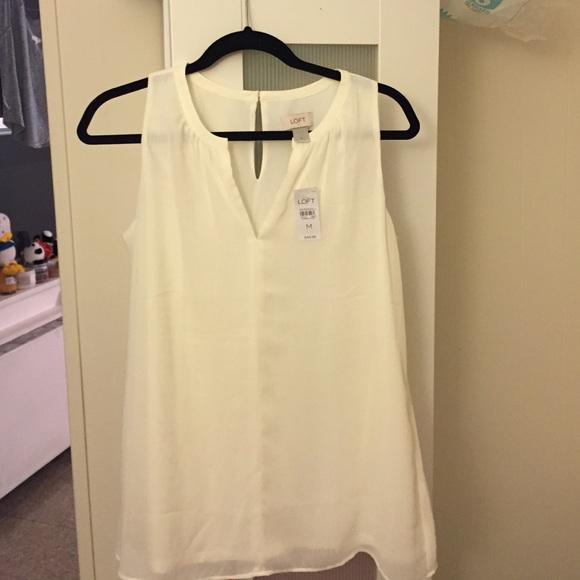 a0cc71a65319cf Ann Taylor Loft sleeveless blouse size medium