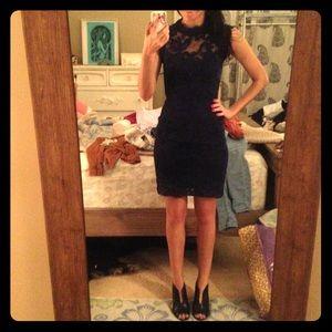 Sans Souci Dresses & Skirts - Sans Souci new with tags cutout navy dress XS