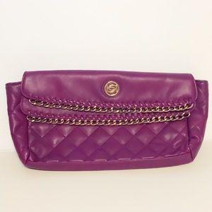 bebe Handbags - Purple bebe Clutch