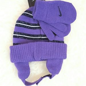 908d3d6c38d Nike Accessories - LAST 1✓NWT Nike Toddler Girl Winter Cap Gloves Set