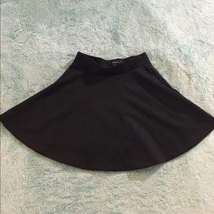 Forever 21 Dresses & Skirts - F21 Black Skater Skirt