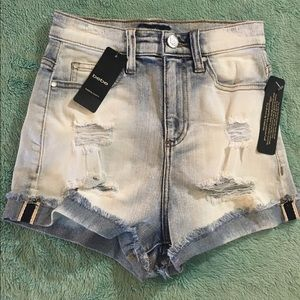 Bebe High Waisted Shorts