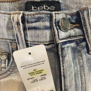 bebe Shorts - Bebe High Waisted Shorts
