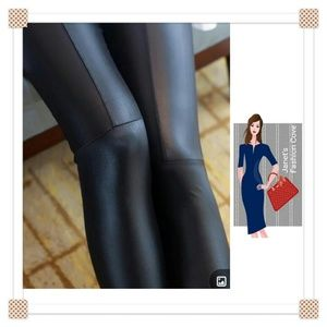 Pants - NEW ARRIVAL: Super Cute Leather Look Leggings